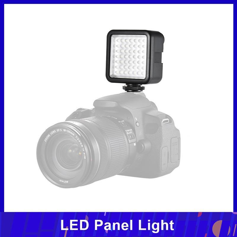ANDOER W49 MINI CAMERA LED LIGHT PARA A7 DSLR Videocámara Dimmildimable Iluminación de video 6000K Iluminación de fotografía