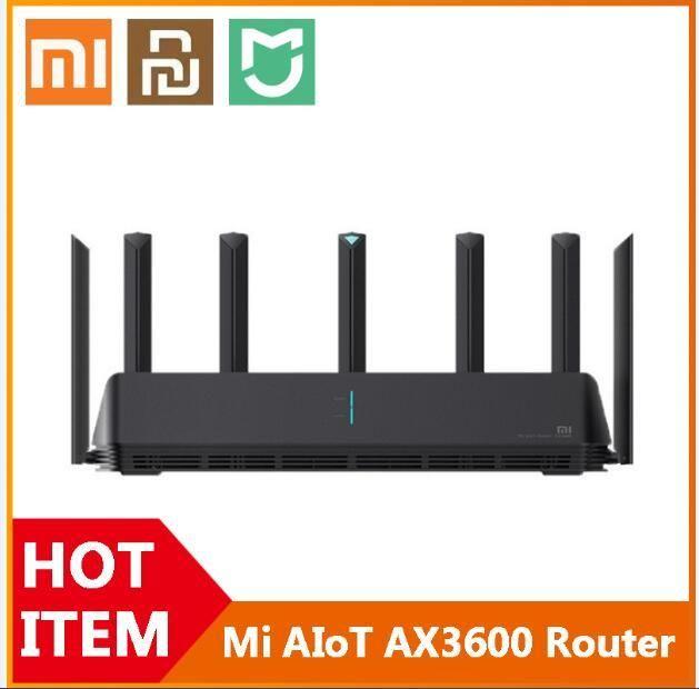[К нам] Xiaomi Mi AIOT Mar Router AX3600 WiFi 6 Двухдиапазонная 2976 MBS Gigabit Rate WPA3 Сищевой усилитель безопасности WiFi Усилитель