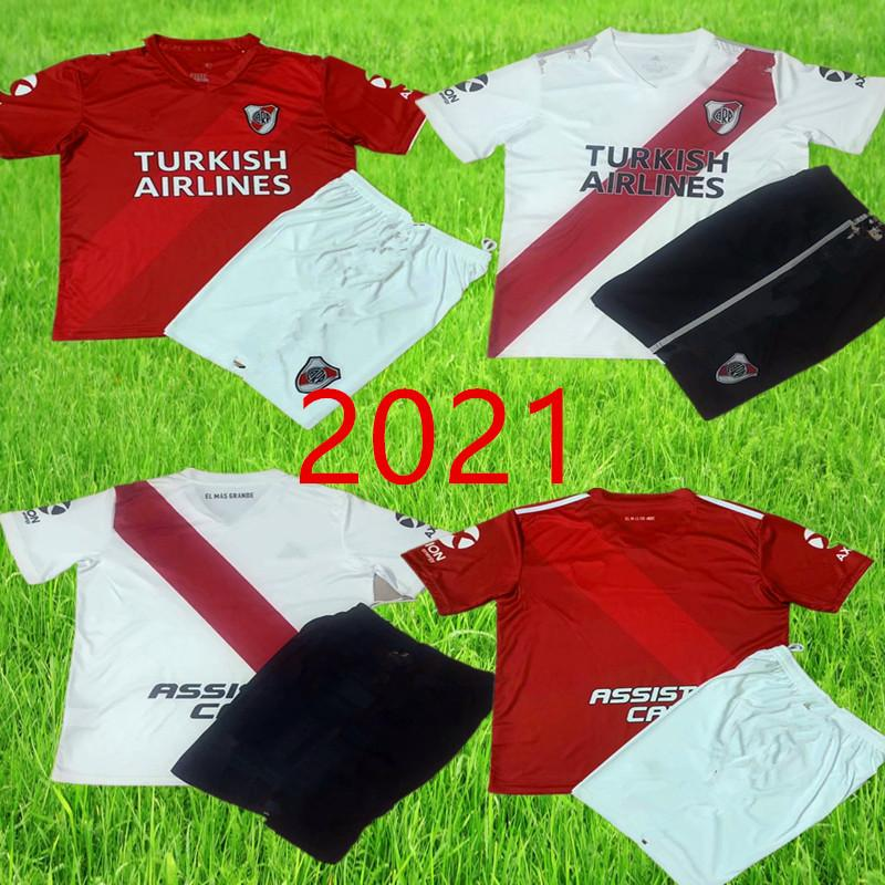 2020 men River Plate home white Soccer Jersey River Plate away Red G.MARTINEZ QUINTERO PRATTOSoccer Shirt 20/21 riverbed Football jers