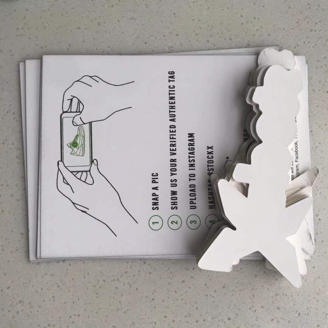 stock x tag OW Zip Tie Stockx Plastica Black Font QR OG TAG SHOIL QR + Sticker + Carta Off Scarpe Verified Authentic ShoeS Box
