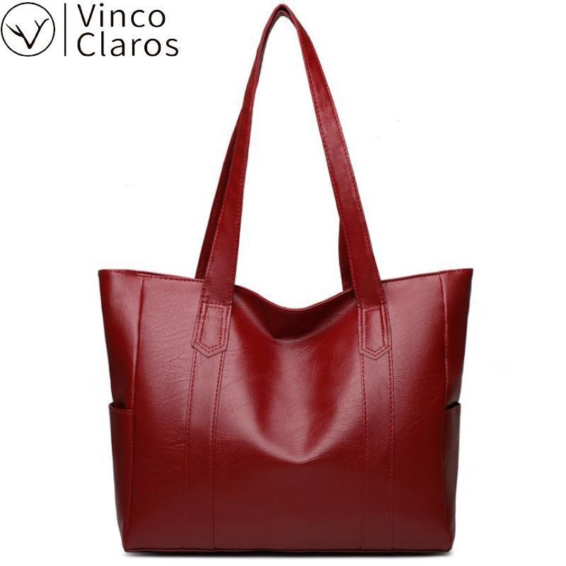 Große Kapazität PU Casual Haupttaschen Schulter Handtaschen Frauen Eine Farbe Große Shopper Sac Solide Luxus-Tasche Neue Designer Geldbörsen Leder Mxwen