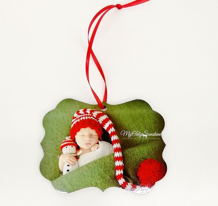 DECORAZIONI DI NATALE DI DI TE DECORAZIONI DI NATALE PARTICHE MDF Sublimation Blank Blank Hanging Ornament per Natale Double Sided C Bbyjvp Sport77777