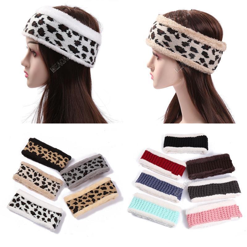 Designers de Mulheres Leopard Letras Impresso Headbands Moda Casual Esportes Cabeleireiro Colorido Trendy Meninas Headwear Favor D121002