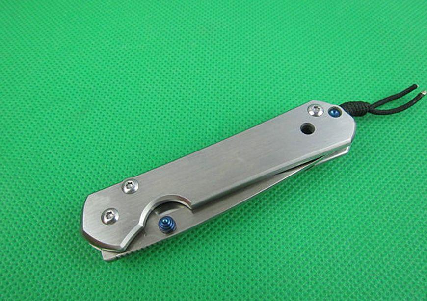 OFFRE SPÉCIALE Couteaux pliants CR 5CR15MOV 58HRC CNC Meulage Mercerizing Drop Drop Point Pince en acier inoxydable 120g