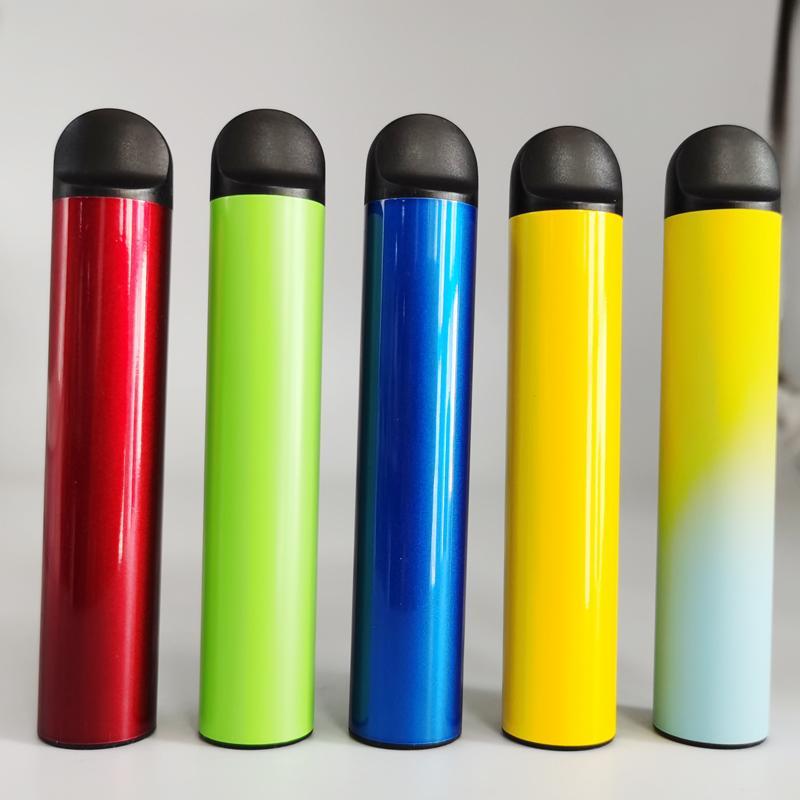 HD Kenar Tek Kullanımlık Cihaz Vape Kalemler 5 ML 750 mAh Pil Starter Kitleri 14 Renkler Boş Tek Kullanımlıklar Buharlaştırıcı Kalemler Ecigs Kitleri Özel Yapılmış