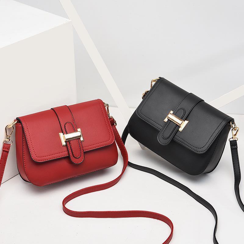 2020 new one-shoulder cross-body bag Korean version web celebrity small bag fashion trend mobile phone bag shipping