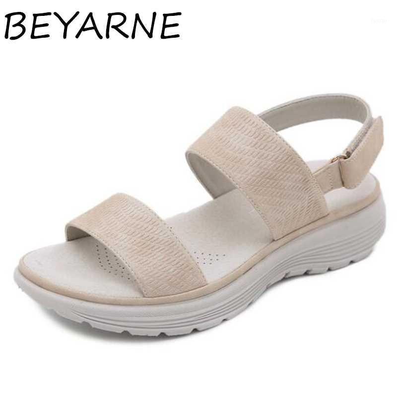 Beyarnebeach Sandalen Frauen Neue Mode Offene Zehen Keil Sandalen Student Sportstil Sommerschuhe Frauen Sandalia Feminina1
