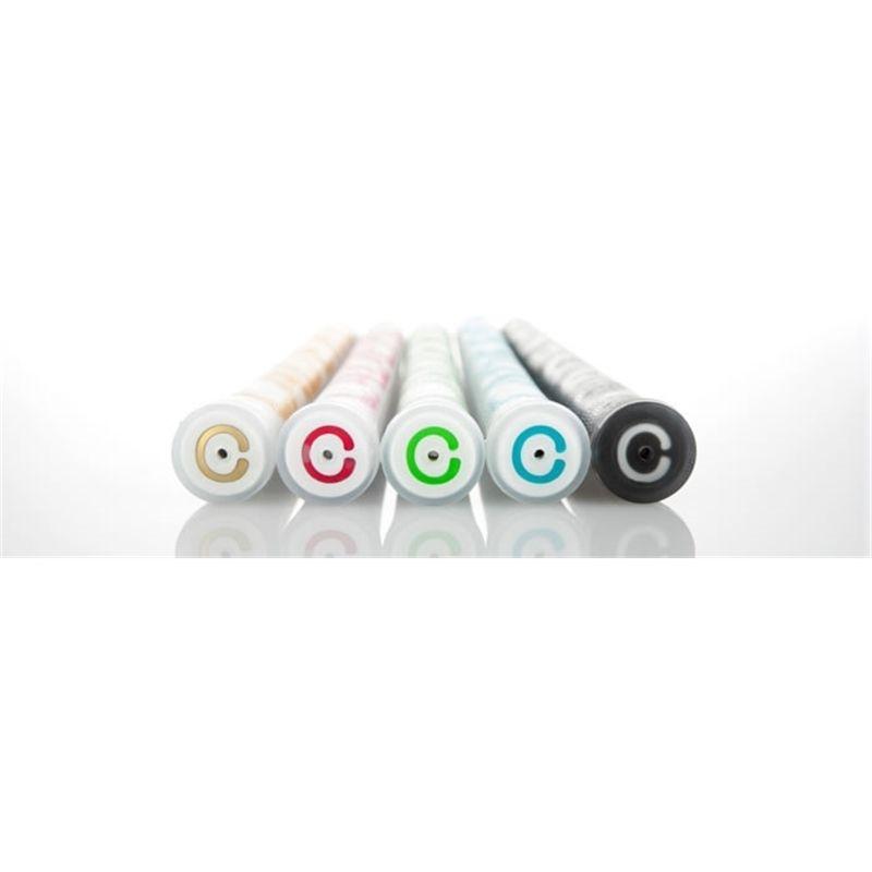 Nouveau 9x Crystal Standard Caderero 2x2 Air Ner Poignées de golf 10 Couleurs Disponible avec matériau souple Transparent Club Grip 201029