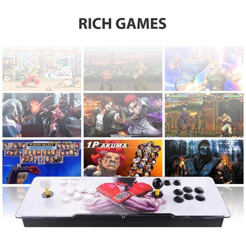 Ultra-Thin All-Iron Moonlight Rocker Game Console Home Arcade Pandora Treasure Collection 3D Hogar Fighting TV