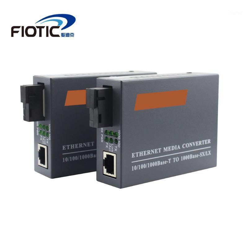 Faseroptikausrüstung 1 Paar Gigabit HTB-GS03 A / B Optical Network Media Converter FIBRA Transceiver Single Mode Faser1