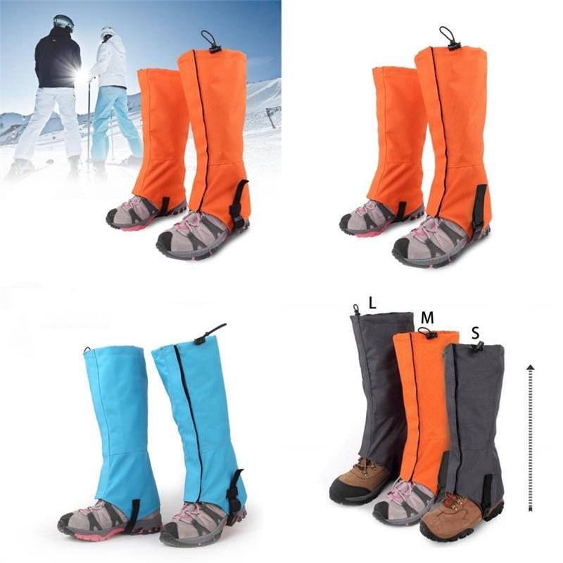 스키 보호 복장 커버 눈 핸드 발 따뜻한 탄성 Drawstring 시스 방수 방풍 눈 덮인 스포츠 액세서리 29LS N2