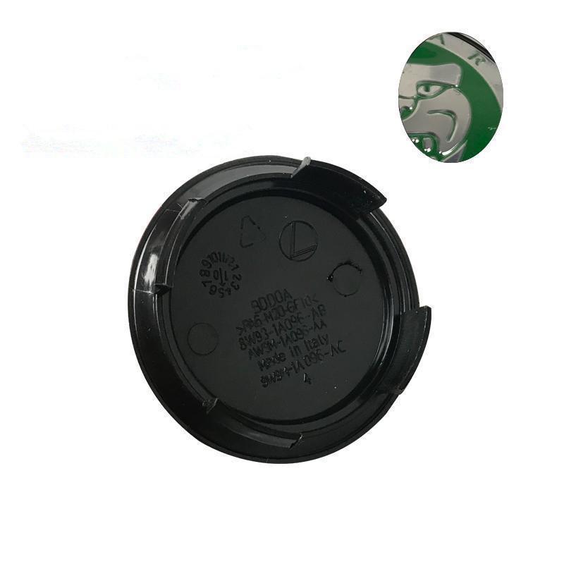 OEM أزياء عجلة 59 ملليمتر سنتر كاب عجلة محور كاب يغطي سيارة التصميم ص شعار ل جاكوار XF XE XJ XJS XK S- نوع X-T
