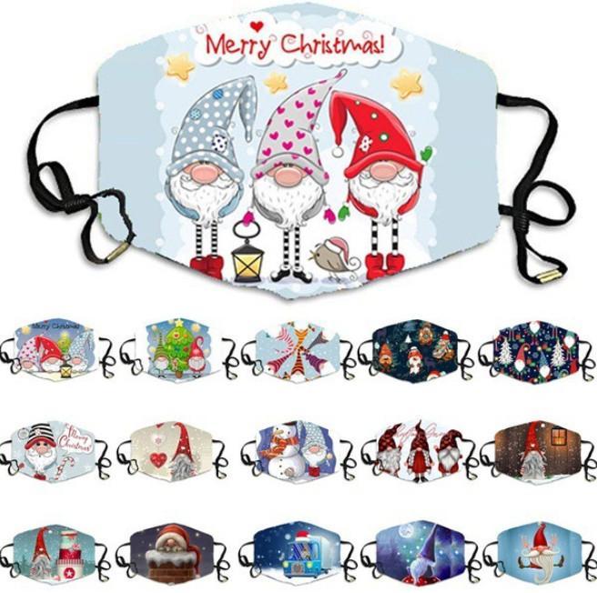 أحدث قناع حفلة عيد الميلاد، ومجموعة متنوعة من الأساليب للاختيار من بين الأيائل سانتا، والأقنعة الزخرفية الكبار تنفس