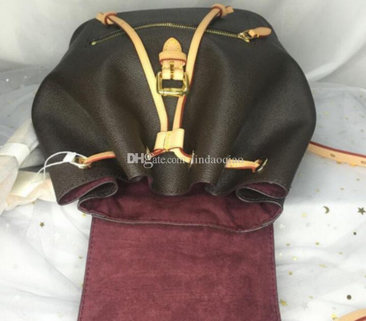 Fashion Top Genuine Womens Leather Handbag Quality Backpack Womens Backpack Designer Oxidize Borsa Zaini Designer in pelle Borsa da marca M FXGG