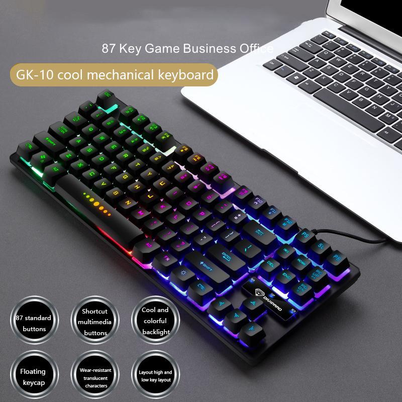 GK-10 проводной 87 RGB Q1224