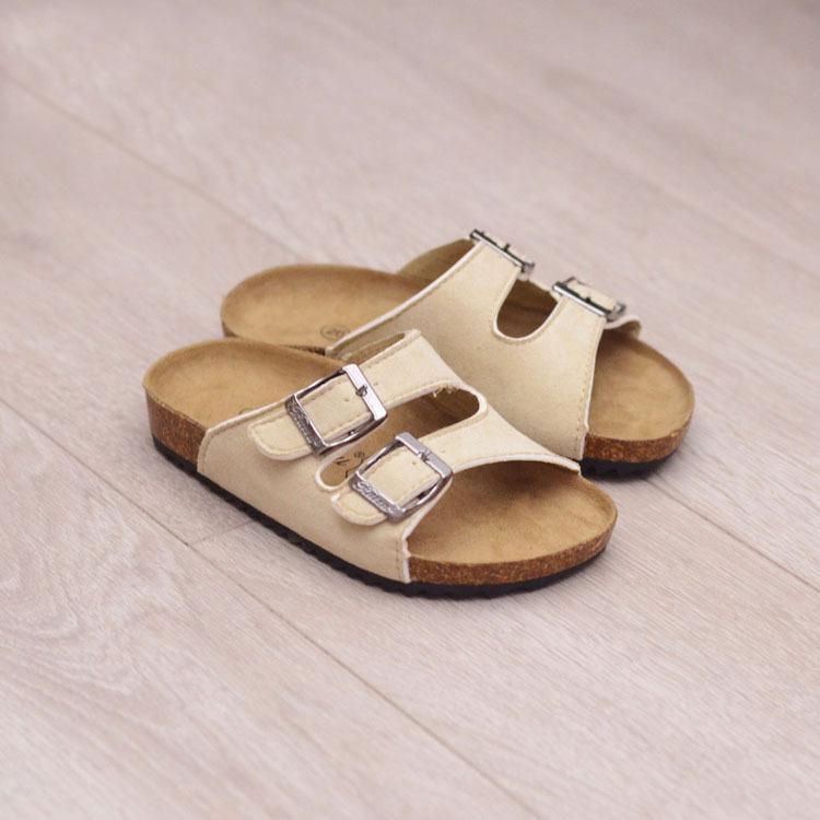 22-39 niños zapatillas de corcho moda sandalias de verano zapatos niños resbalones en niños niños niñas sandalias