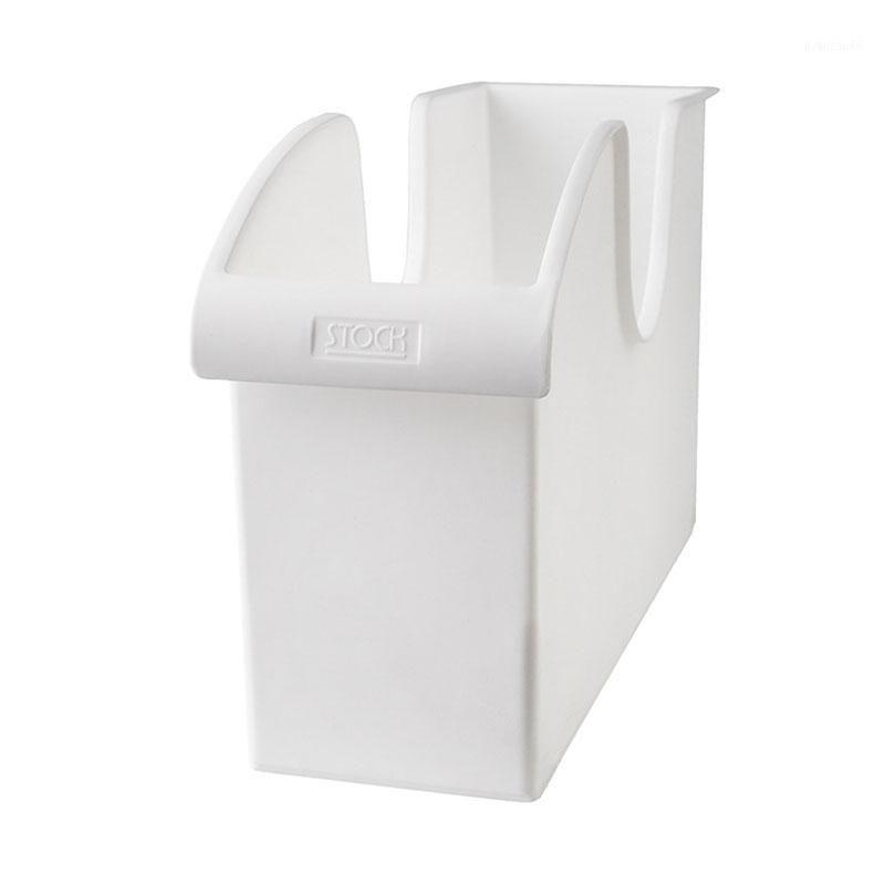 Küchentopf Aufbewahrungsständer Aufbewahrungsbox Riemenscheibe Abdeckung Topf Kunststoff Regal Küche Utensilien Box Gewürzplatte TB1