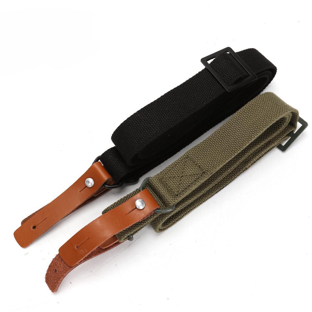 AK Pelle Outdoor Real CS Tactical Multi Function Task Cintura per la sicurezza della cinghia d'attaccatura Singola cinghia a doppio punto