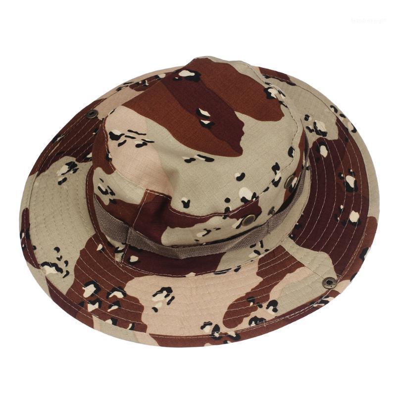 LNCDIS Bucket Hat Boonie Hunting Fishing Outdoor Wide Cap Brim fishing hat harajuku chapeau Mens Casual W1