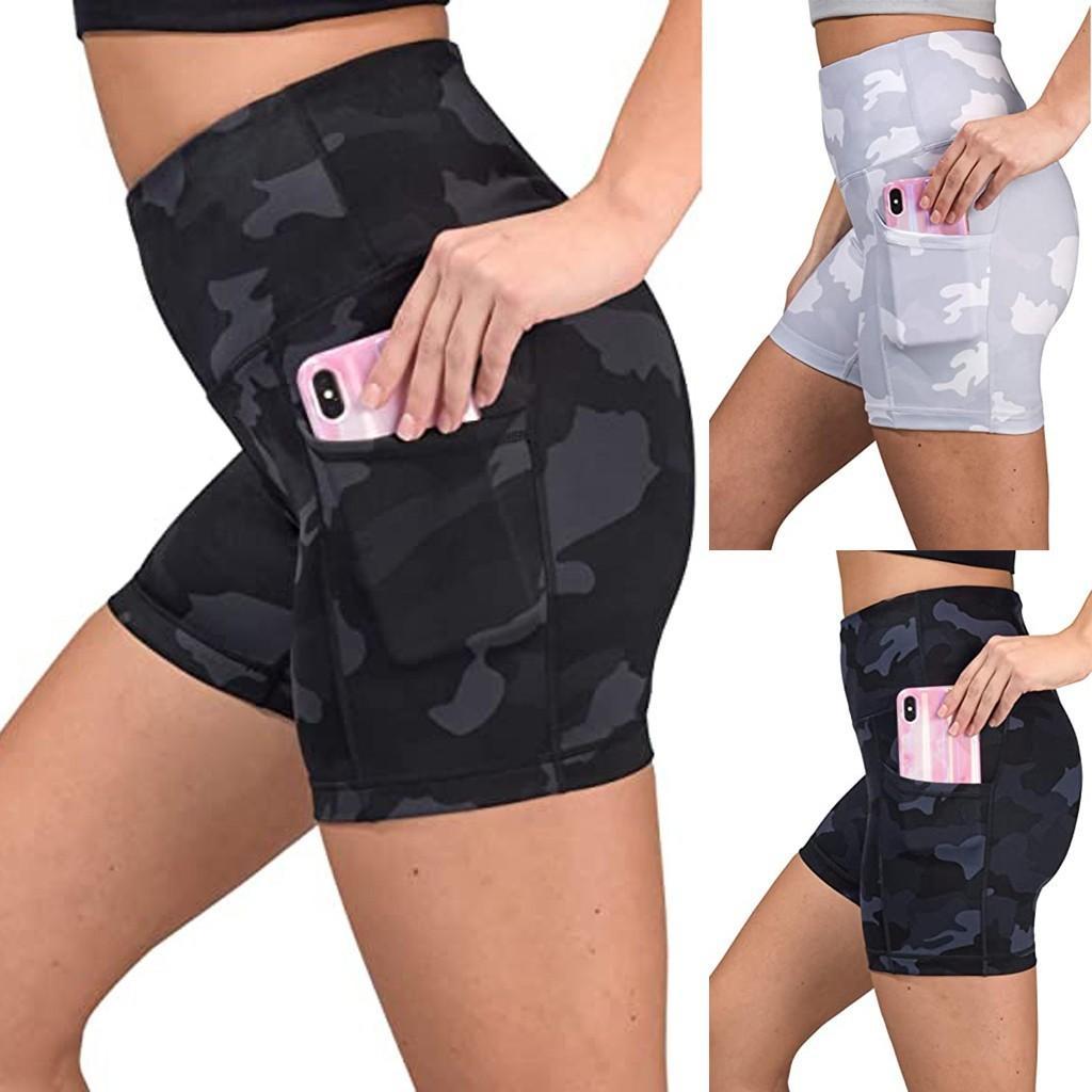 Noix Femmes Short Haut Haute Été Vêtements pour femmes 2020 Sexy Shorts Sexy Biker Taille élastique Noir Blanc