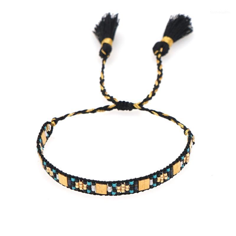 Braclets Bracelets Go2boho Tassel Bracte для женщин Ювелирные Изделия Модные друзья Подарок Tila Beads Pulsera 2021 Miyuki Ювелирные изделия Плетеные Женские1