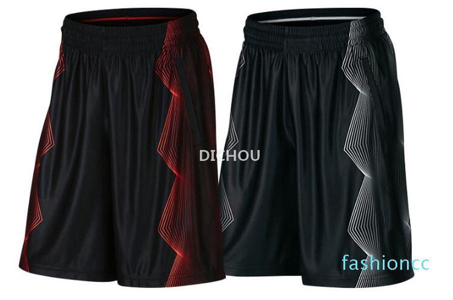 Kalite Kyrie Irving Basketbol Şort Erkekler için Nefes Koşu Şort Mens Şort Eğitim Pantolon S-XL