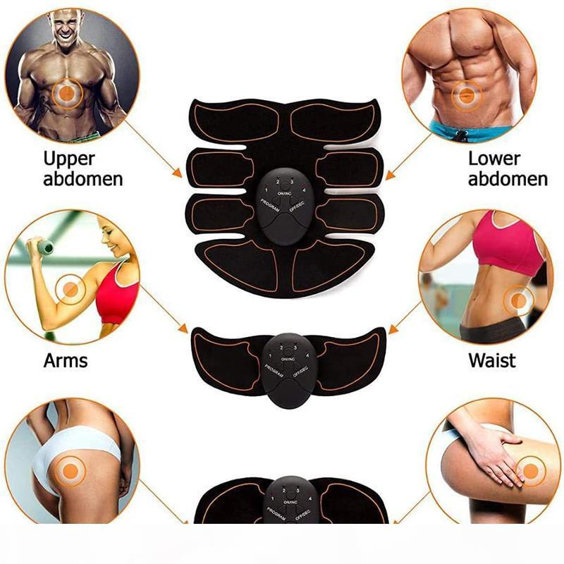 QualityCutt Trainer Muscle Stimolatore Muscle ABS Fitness Glutes Abdominal Trainer Toner Slimming Massager Neutro
