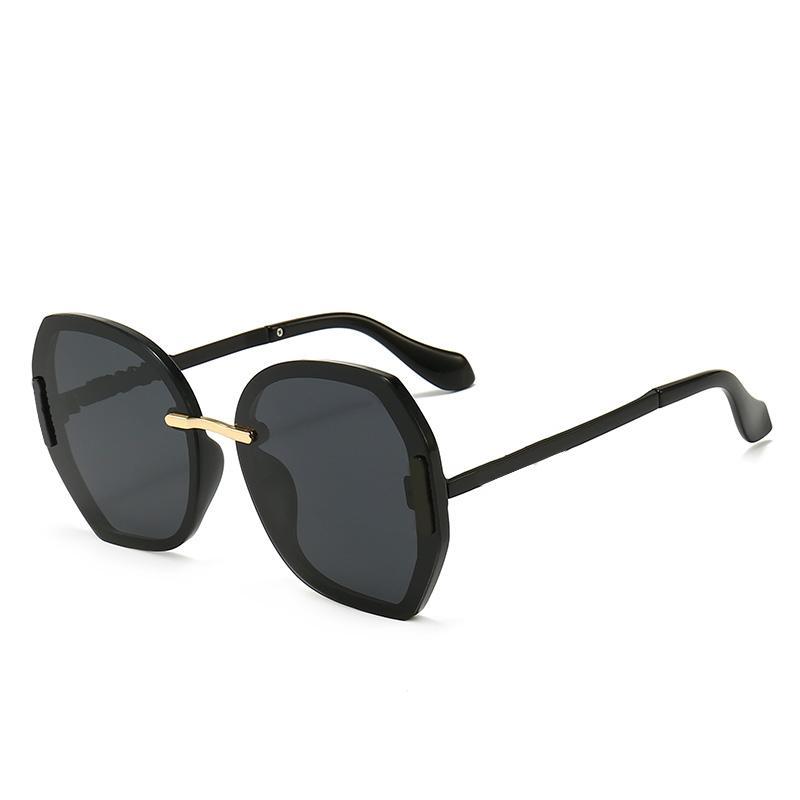 2021 جديد أزياء عالية الجودة مصمم نظارات عالية الجودة ماركة الاستقطاب عدسة نظارات الشمس نظارات للنساء النظارات إطار معدني 568
