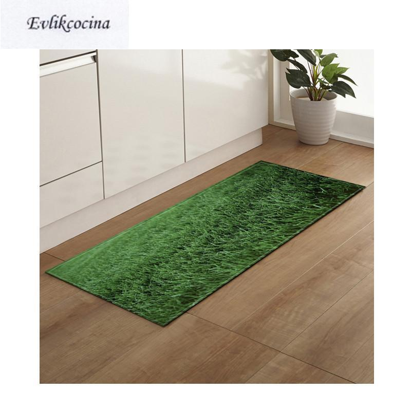 Carpets Green Grass Land Non-Slip Absorbent Bath Mat Area Rug For Living Room Bedroom Floor Carpet Tapete Infantil