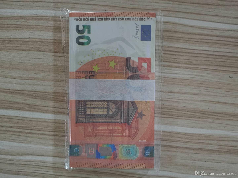 Veloce 24 valuta e 50 token festival gioco adulto euro simulazione giocattolo di moneta tiro all'ingrosso gioco di collezione gifts puntelli qdkjf