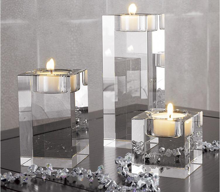 Европейский подсвечник для стекла утолщение ветрозащитные украшения подсвечник стекло романтический внутри обручальный хрустальный шар Jlltt yummy_shop