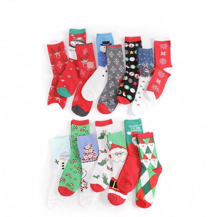 15 cores homens mulheres crianças de algodão meias skate hip-hop middle tube meia fulvo filhote de neve mulheres moda esporte meias ppd2585