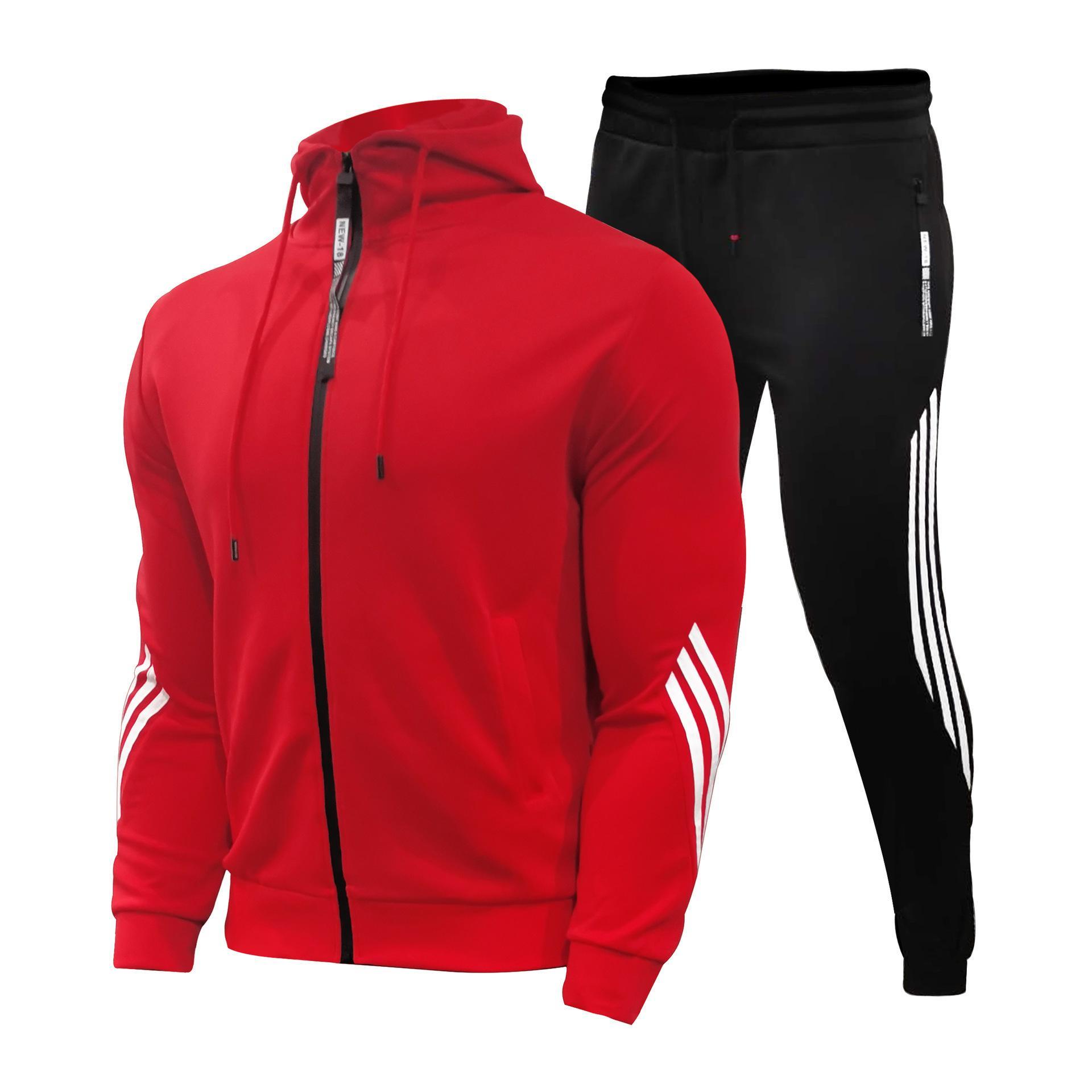 Herren Casual Sports Anzug Mit Kapuze Pullover Laufende Sportswearanzug kann logo angepasst werden