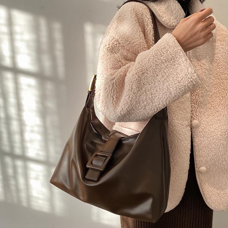 Times Büyük Kapasiteli Yumuşak PU Deri Kadın Çanta Ve Çantalar Rahat Kadın Omuz Messenger Çanta Için Lüks Crossbody Çanta