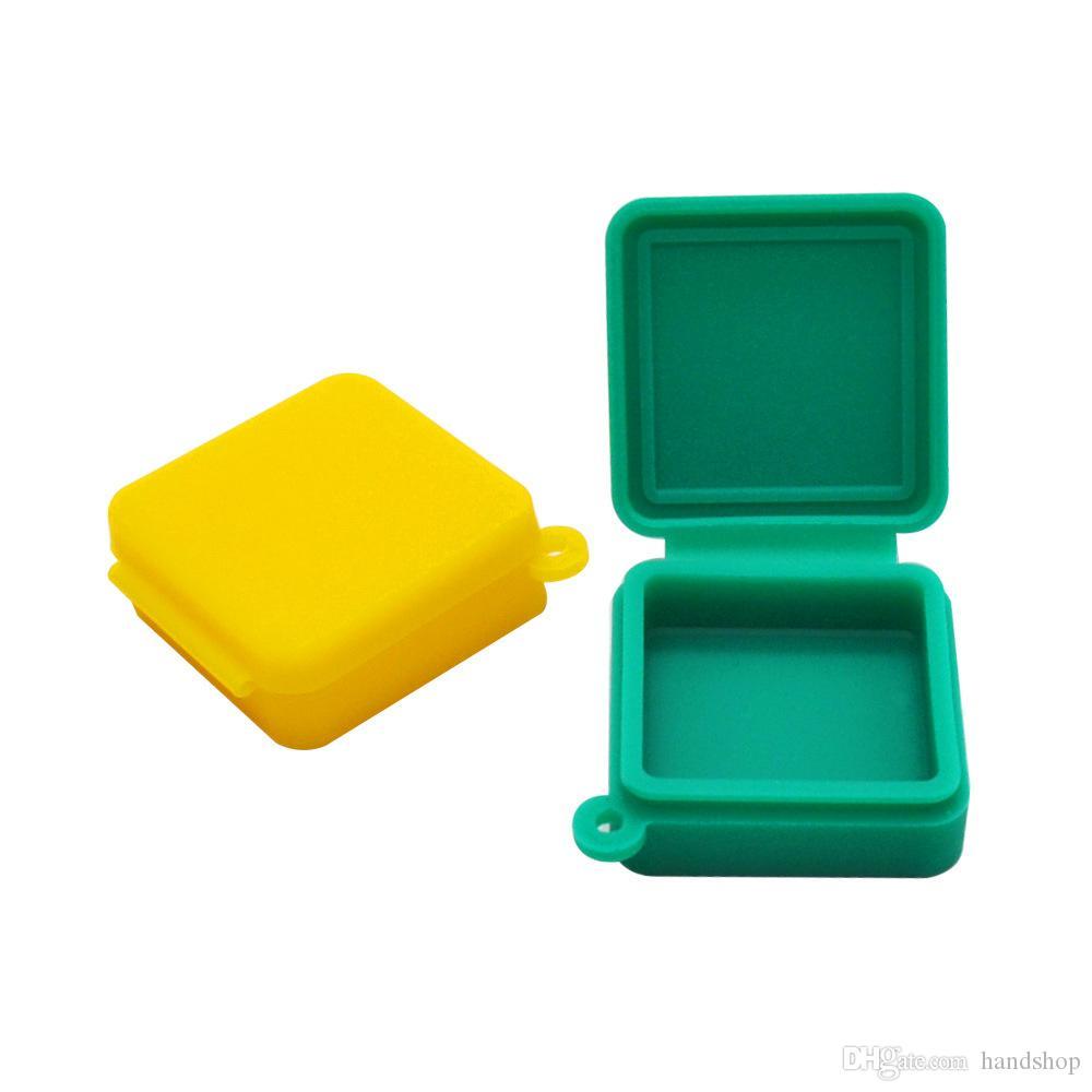 Безстрекивый 9 мл восковые контейнеры блок фигуры силиконовые контейнер еда банка ДАБОТЫ ДАБ