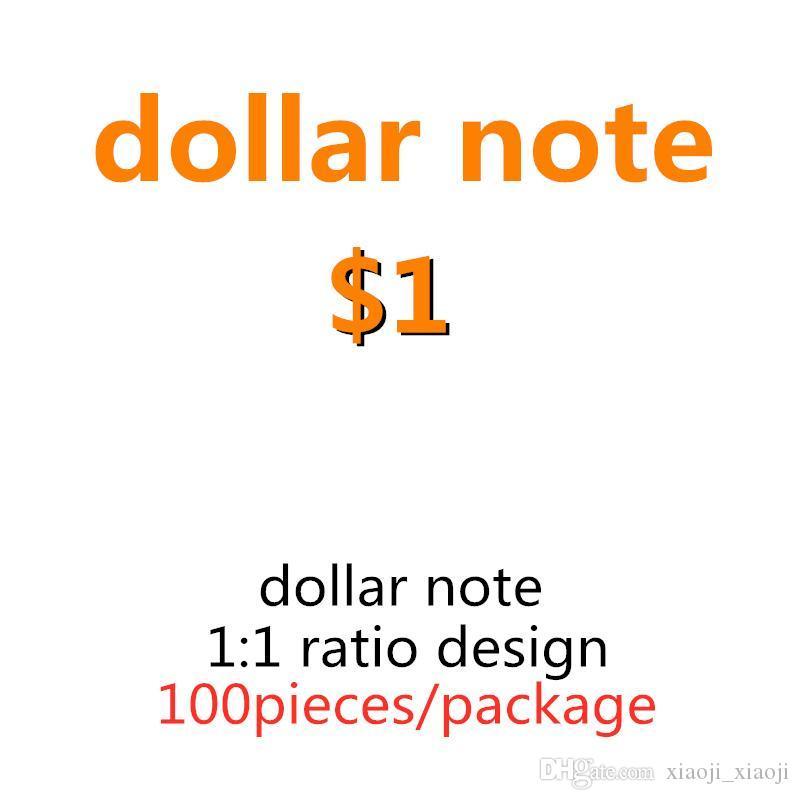 Prop Kid Toys Best Faux Money Paper Money Fake Paper Billet US Banknotes Dollar Copy 1 Copy Prop Money 100pcs/pack 03 Crwhn