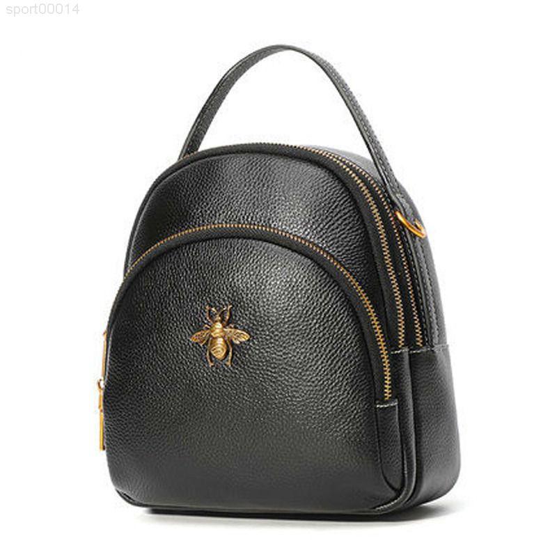 Ünlü Deri Bayan Mini Sırt Çantası Nakliye Marka Çanta Tasarımcı Çanta Omuz Çanta Ücretsiz Hakiki Çanta Messenger RBSOW