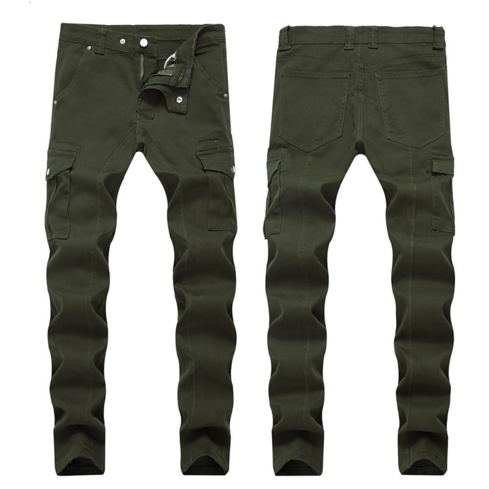 Homme en détresse déchiré maigre mode slim moto moto moo mok homme denim pantalon hip hop homme jeans 1257