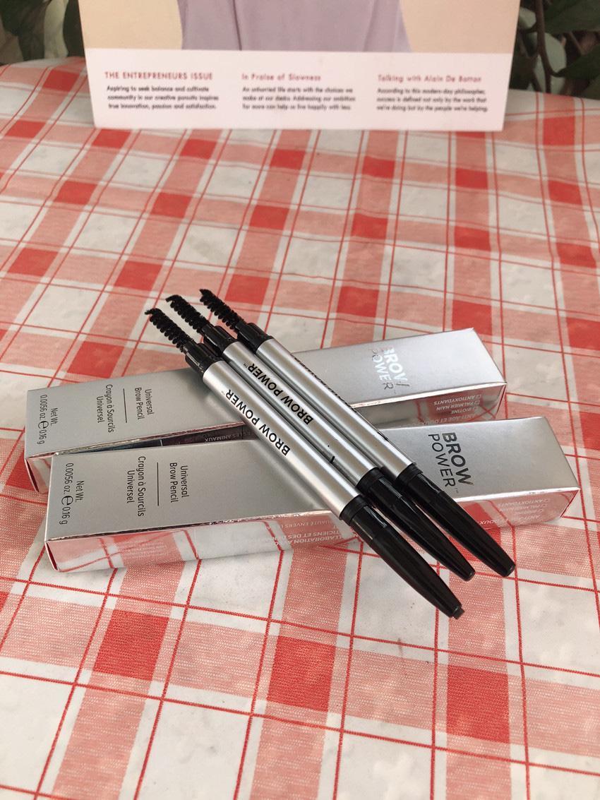 2021 dhl جودة أعلى جودة العالمي l الحاجب مسحوق الحاجب قلم رصاص اللون البني في الأسهم مع هدية