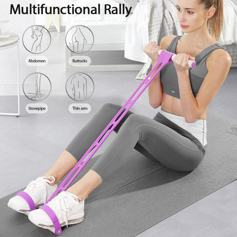Xinchen Amazon Pedal Rally Sit-Ups Thin Belly Home Fitness Trainer Multifuncional Elastic Rope Ioga Equipamento de Yoga Pilates Workout