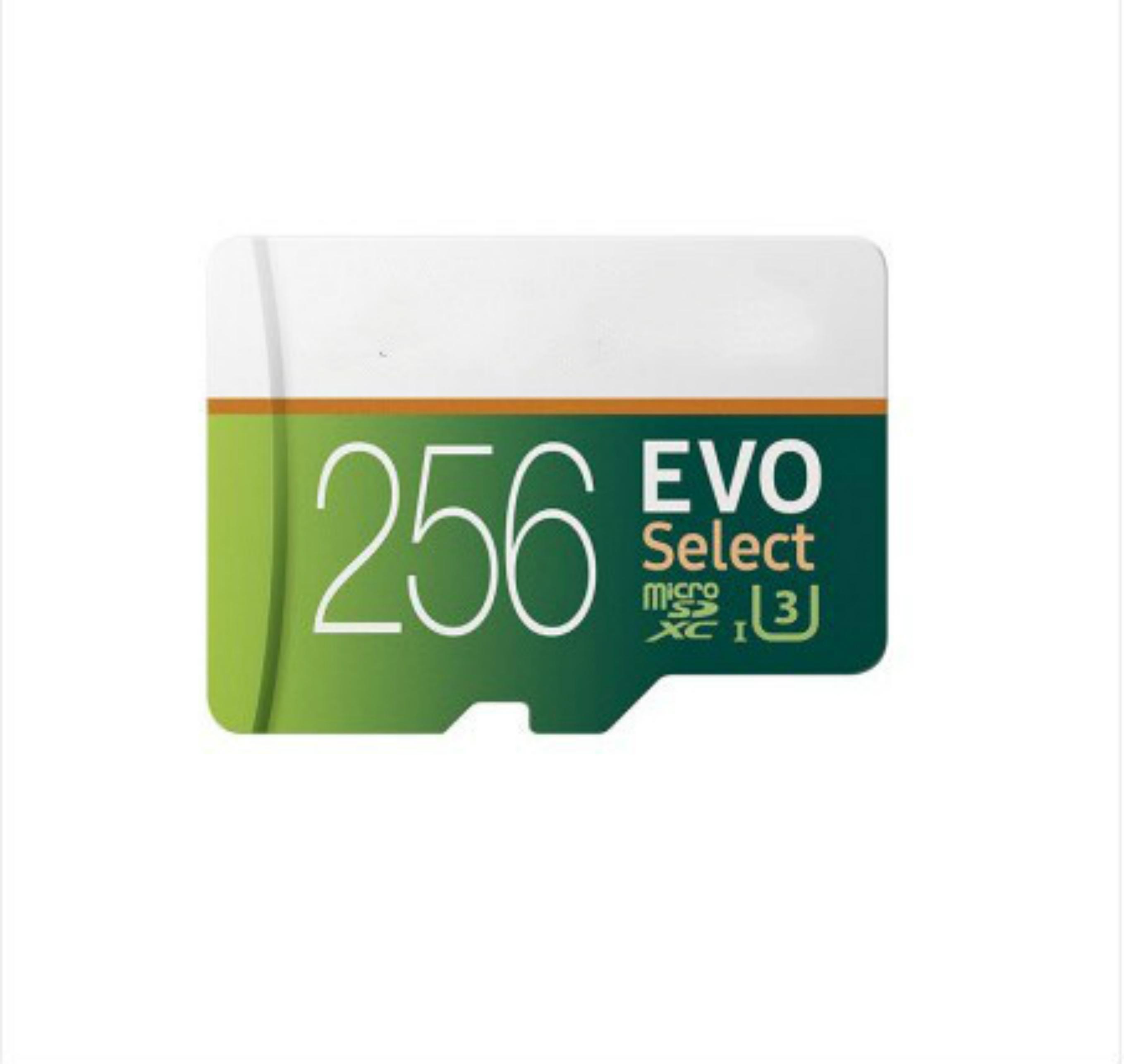32GB / 64GB / 128GB / 256GB Samsung Evo Выбрать карту Micro SD / смартфон SDXC Кладка для хранения / TF Card / HD-камера памяти 100 МБ / с
