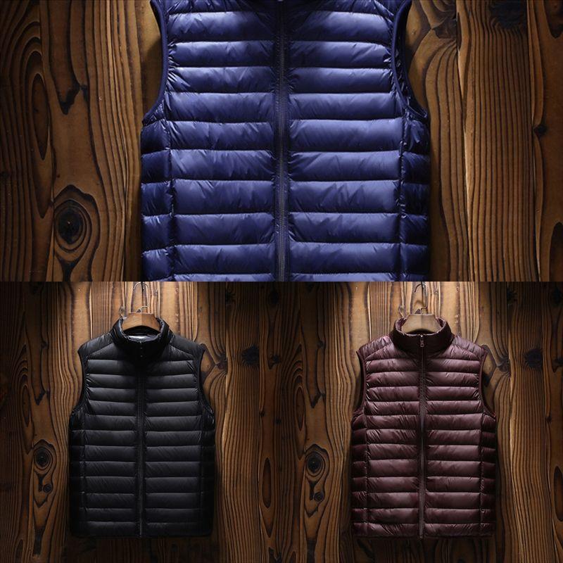 3Nxrg MANTLCONX Autumn Winter Men Vest Warm Waistcoat Men Sleeveless Jacket Vests Male Keep warm vest Winter Plus Man Outwear Brand Vest