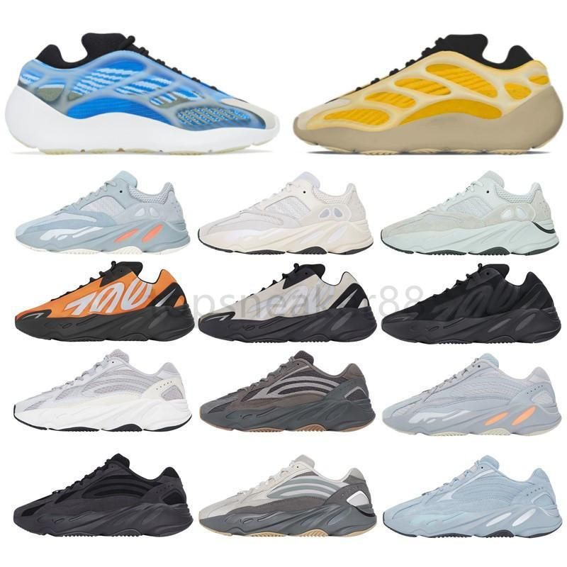 Yüksek kaliteli Kanye West V3 Azael Alvah Arzareth 700 statik mıknatıs koşu ayakkabıları 500 siyah kemik oreo asriel zyon erkek spor ayakkabı kadın s