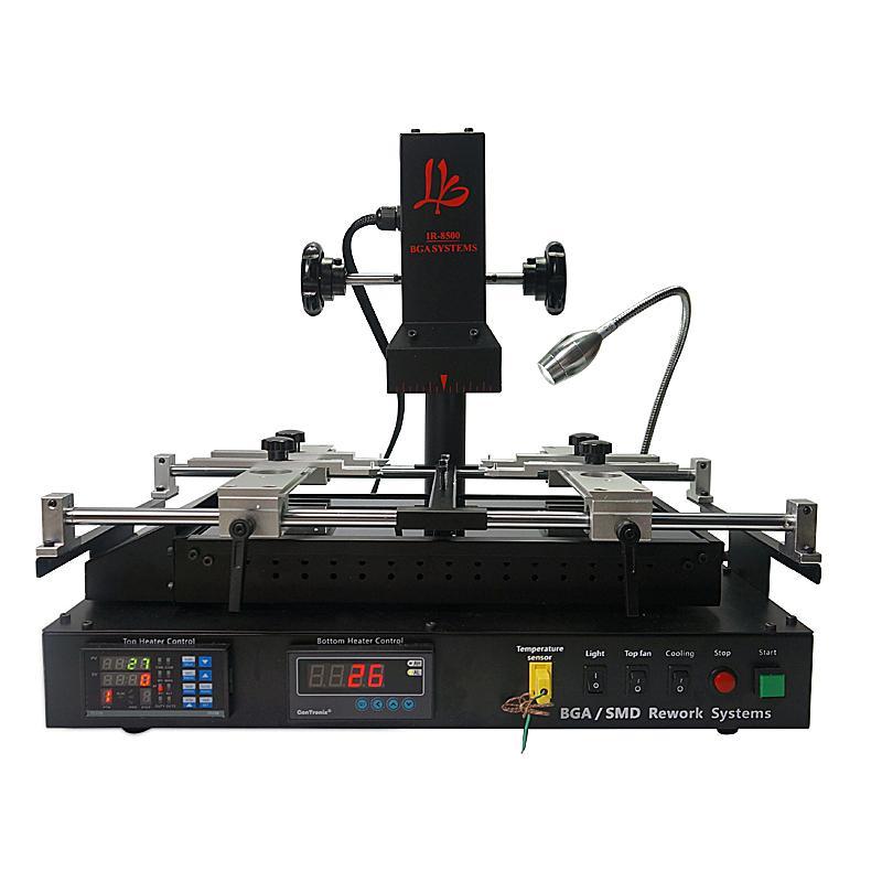LY IR8500 kızılötesi bga rework istasyonu cips anakart tamir makinesi için reballing makinesi