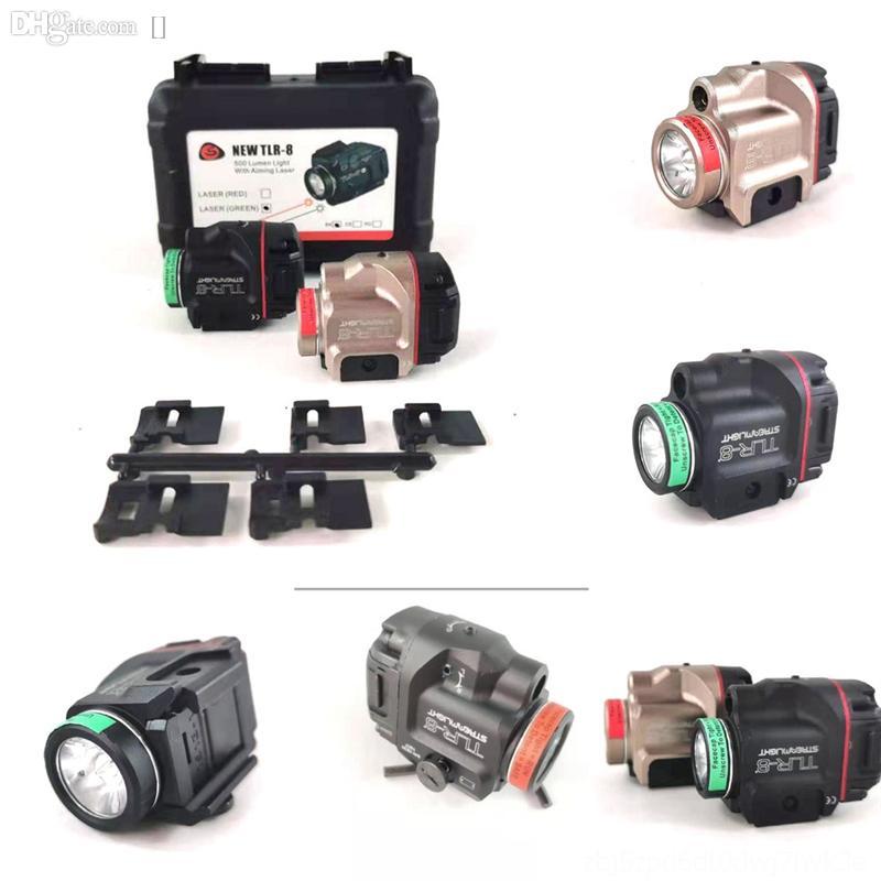 KzyMK ULTRAFIRE LED UMENS LED XM-L TLR-8 TOR Laser Infravermelho Infravermelho Flashlight Tactics Zoomable Cree Cree Lanterna Luz da tocha para AAA ou