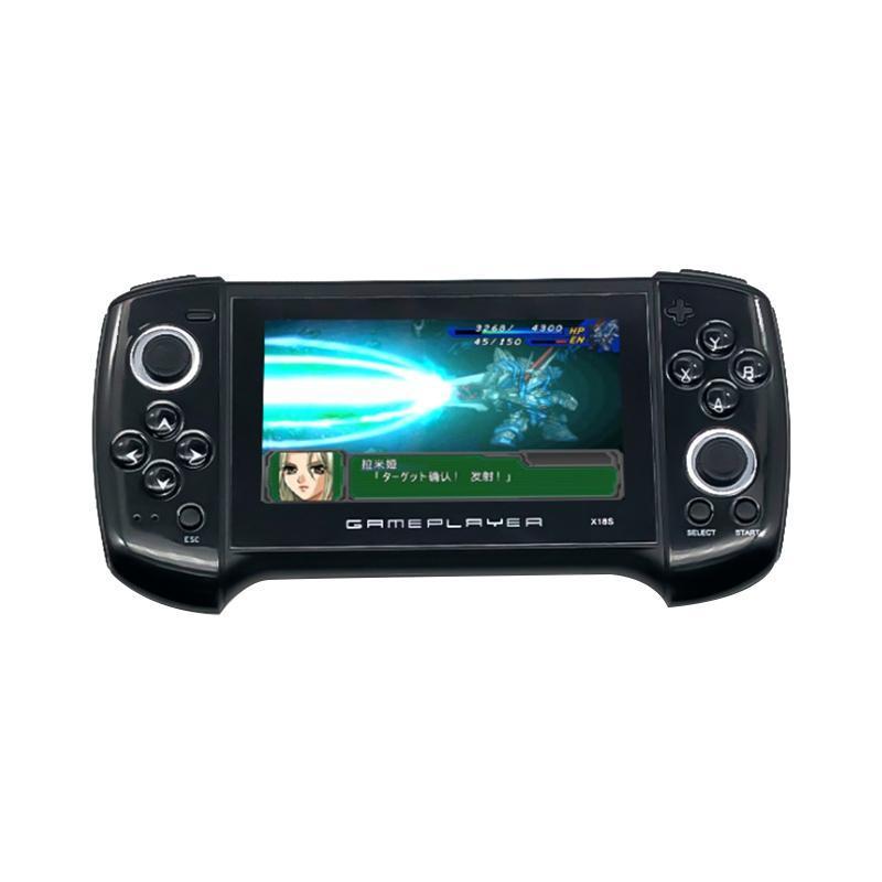 Console de jogos portátil 4,3 polegadas Grande SN duplo HD retro recarregável 8GB para gba.gbc.fc.sfc.md