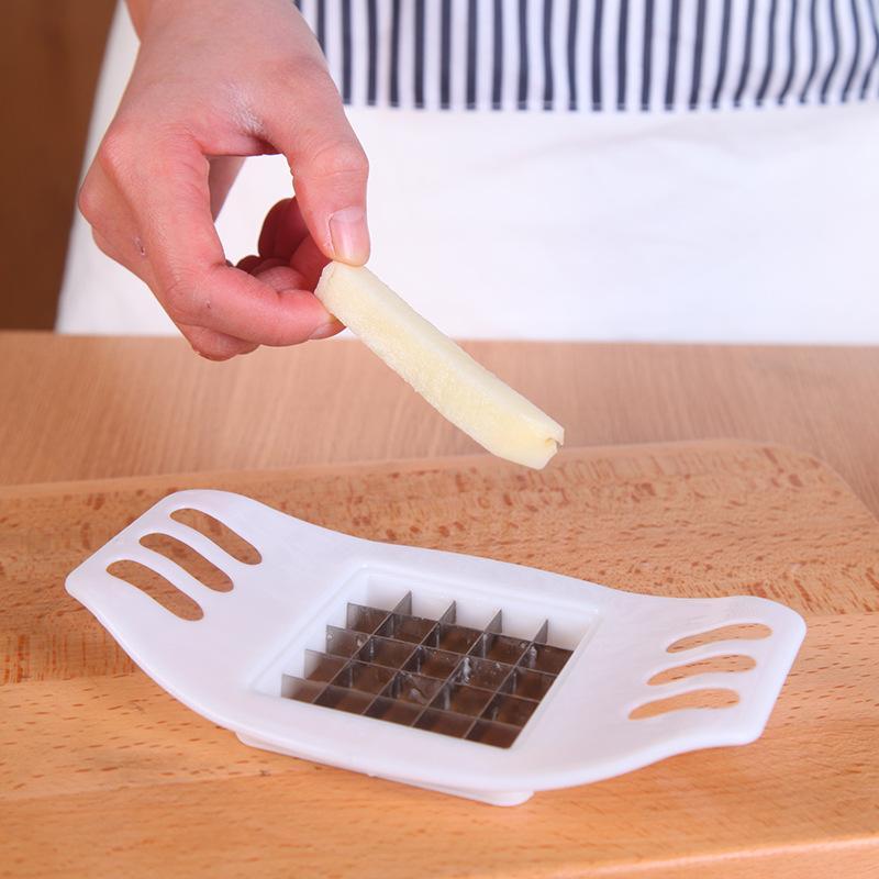 الفولاذ المقاوم للصدأ قطاع القاطع البطاطس قطع البطاطس الطبخ أداة القطاعة اكسسوارات المطبخ المنزل التقطيع المحمولة الساخن بيع 1 3qh g2