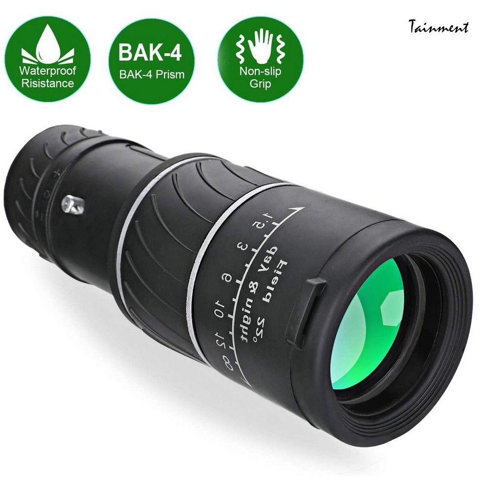 Nuovo binocolo con visione notturna alto sopra il binocolo di plastica del telescopio monoculare per lo sport all'aperto Camping Viaggiare LJ201120