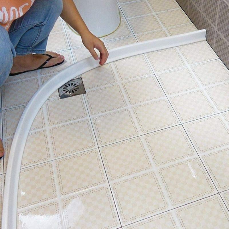 샤워 장벽 욕실 및 주방 물 마구간 접이식 임계 값 물 댐 샤워 장벽 및 보존 시스템 욕실 액세서리