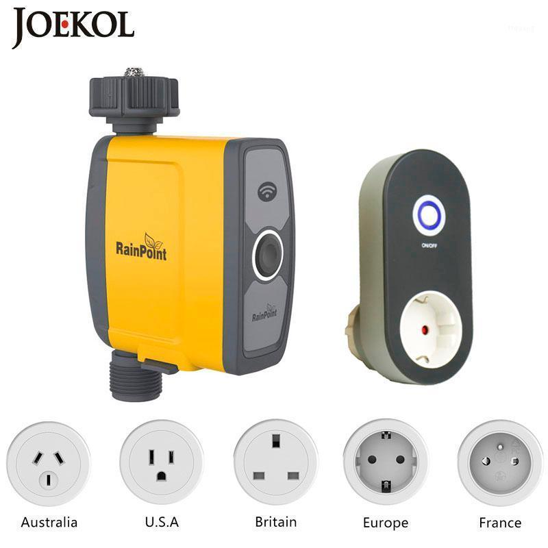 WIFI Connect Watering Timer Waterproof Irrigation Timer Water Garden Irrigation Controller Smart Watering System1